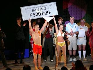 ДУО ПОСПЕЛОВ - ЛАУРЕАТЫ ВТОРОЙ ПРЕМИИ МЕЖДУНАРОДНОГО ФЕСТИВАЛЯ DAIDOGEI WORLD CUP - 2009 (Шизуока, Япония)